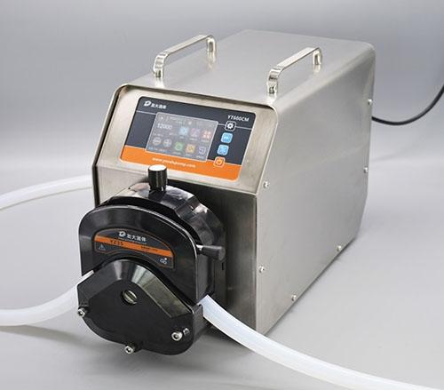 上海YT600CM智能大流量蠕动泵