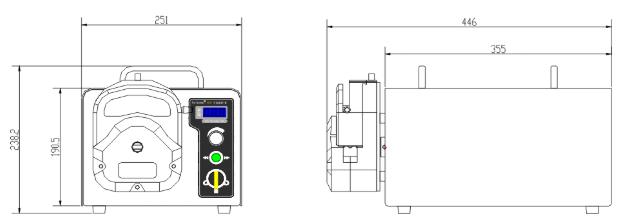友大YT600-1E蠕动泵